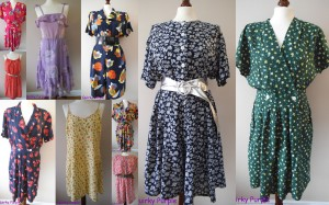 Floral playsuits and summer dresses