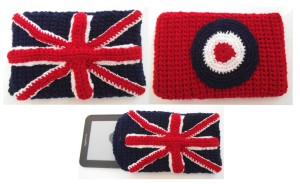 Union Jack and mod target Kindle covers