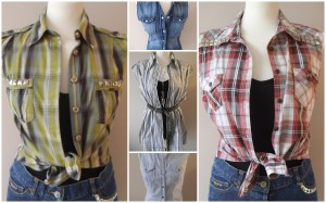 Reworked and customised shirts at Quirky Purple