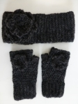 Ear-warmer and mittens