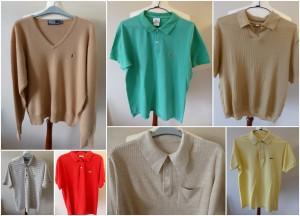 Men's vintage tops