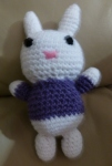 Crochet amigurumi rabbit