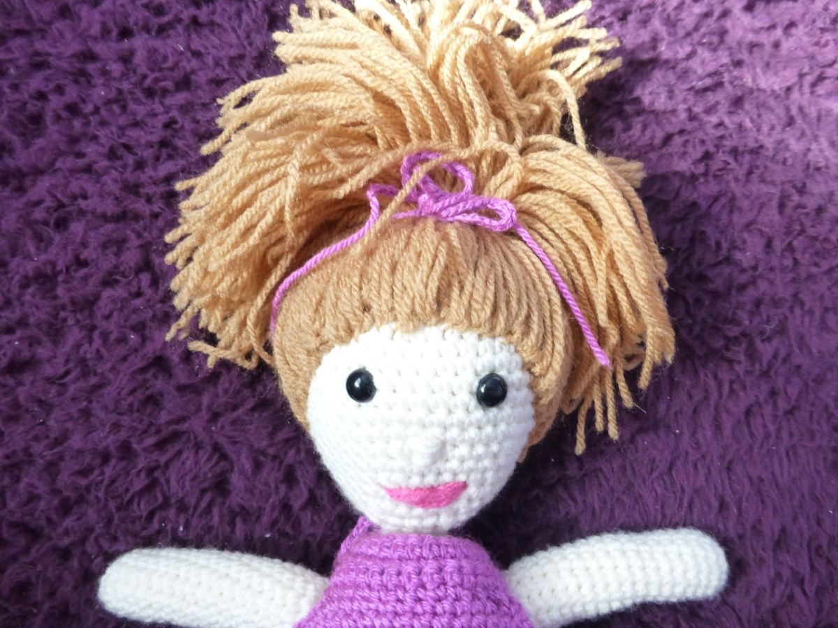 crcoheted doll
