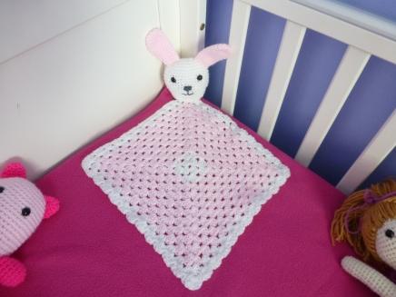 Baby bunny blankie